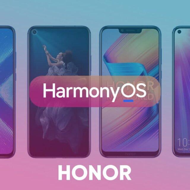لیست دریافت کنندگان HarmonyOS آنر