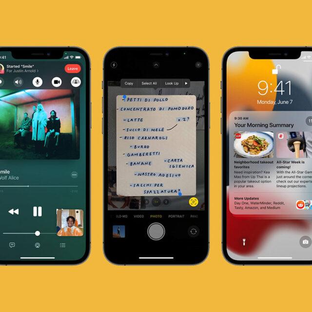 آپدیت iOS 15