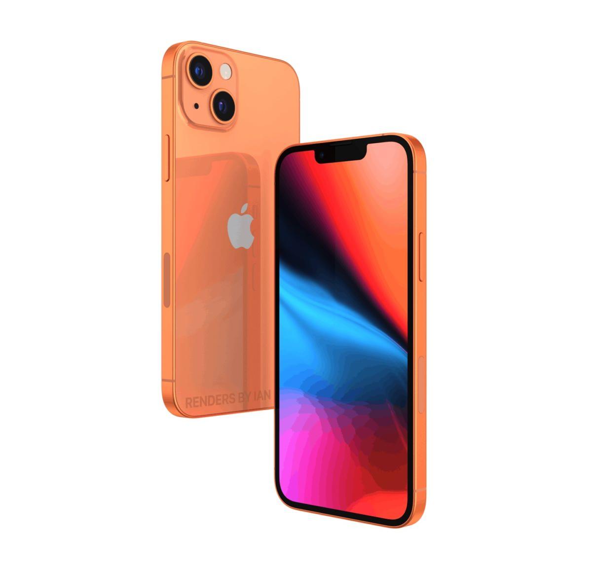 آیفون ۱۳ اپل با رنگ های جدید نارنجی-برنزی و رز صورتی عرضه خواهد شد - ترنجی