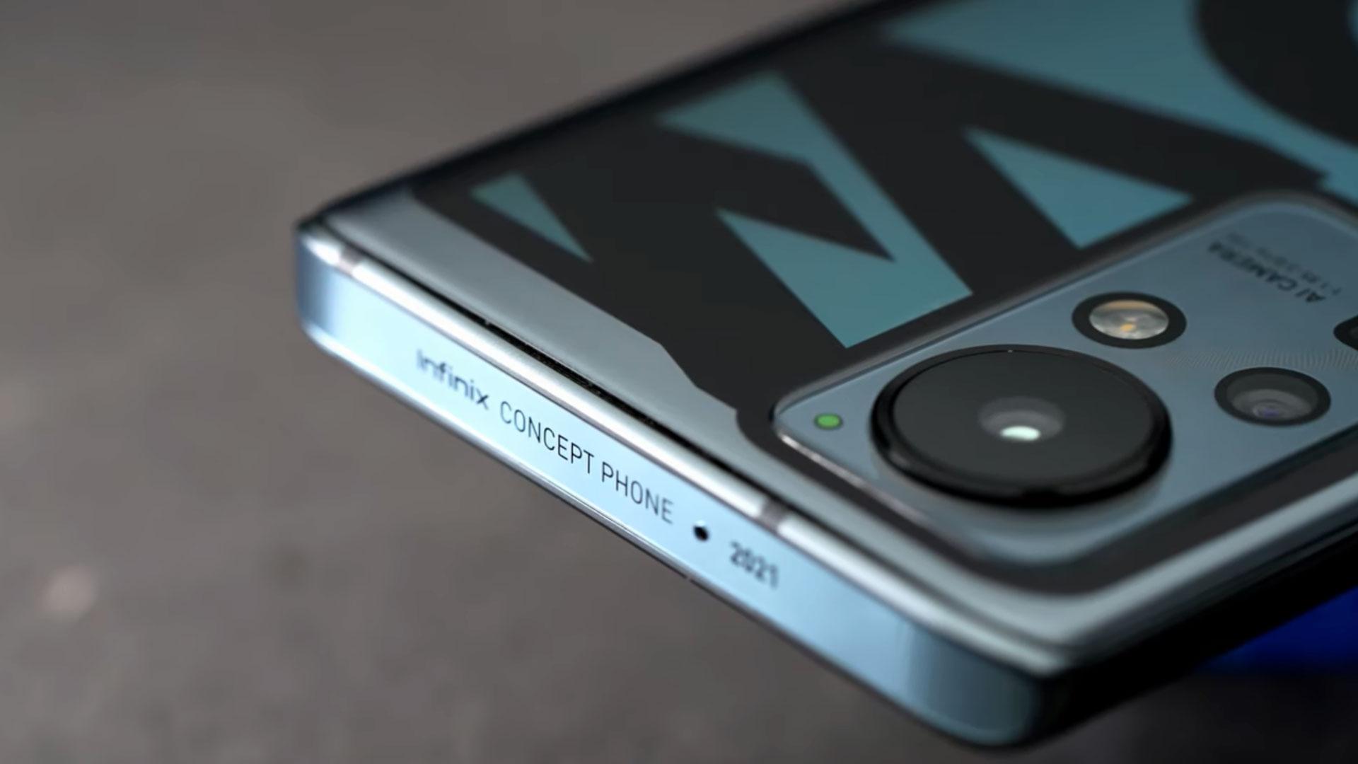 گوشی مفهومی Infinix Concept Phone 2021 با شارژر ۱۶۰ وات و مدیاتک Helio G95 رونمایی شد