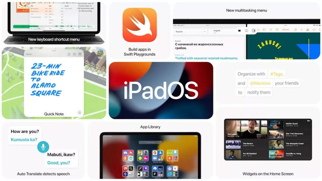 iPadOS 15 اپل