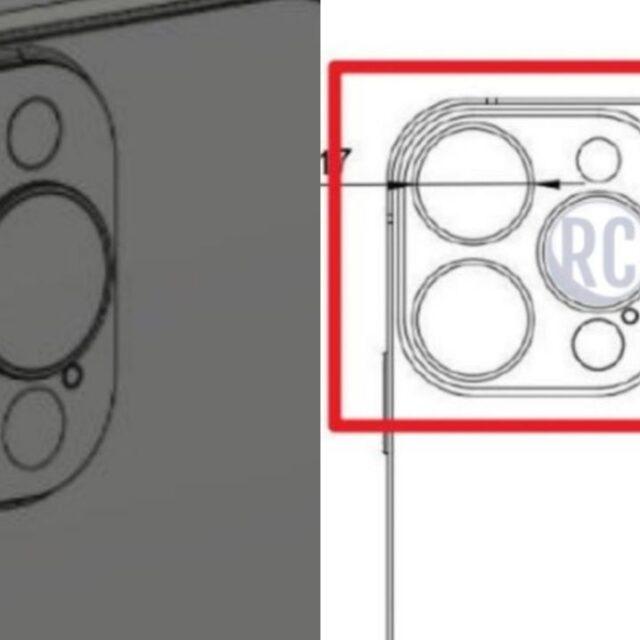 رندر CAD آیفون ١٣ پرو