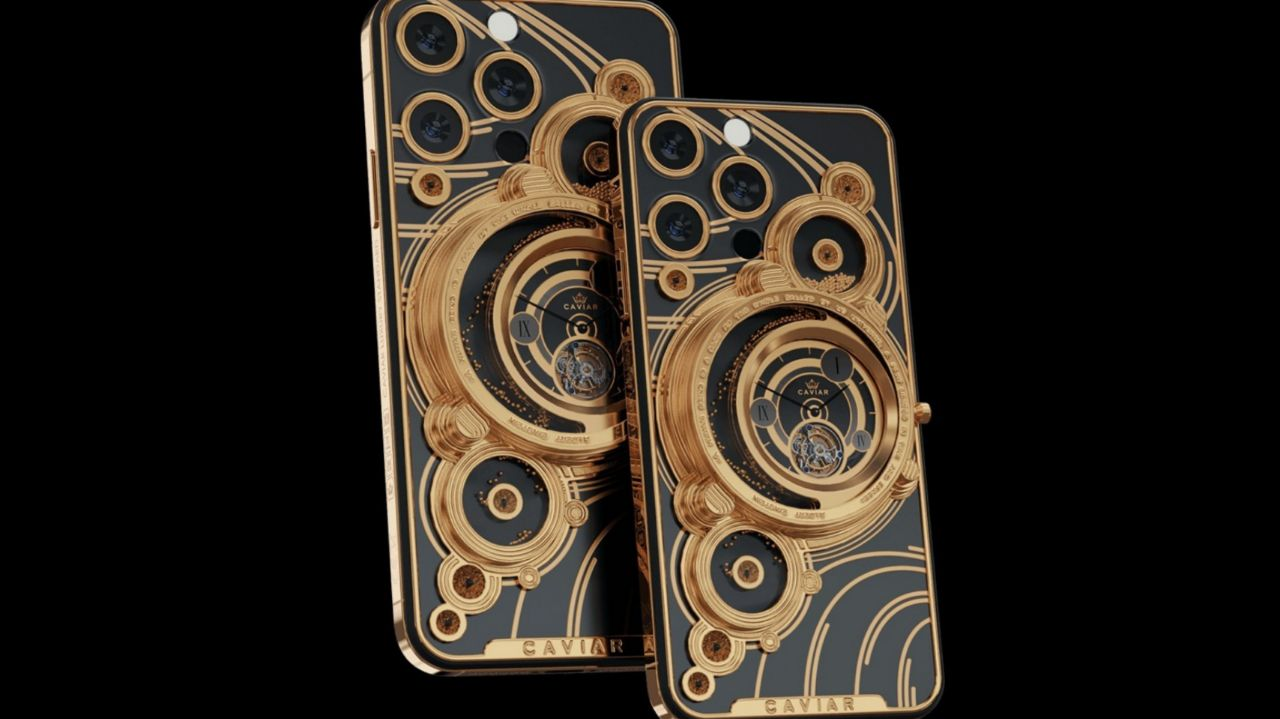 سری آیفون ١٣ خاویار با طلا
