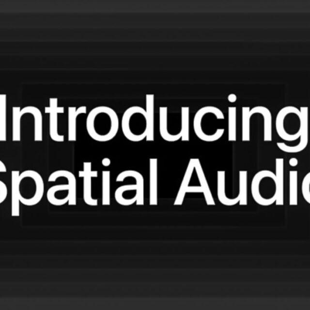 مراسم معرفی Spatial Audio اپل