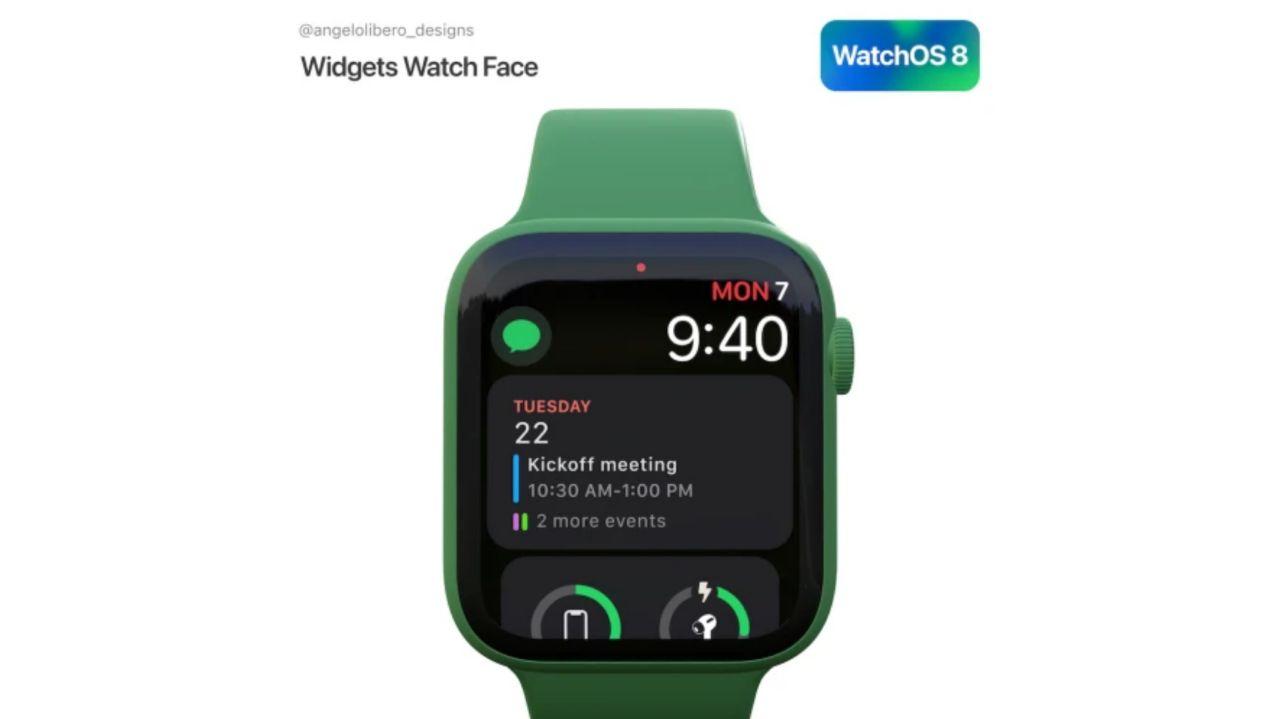 ویجتهای جدید در WatchOS 8