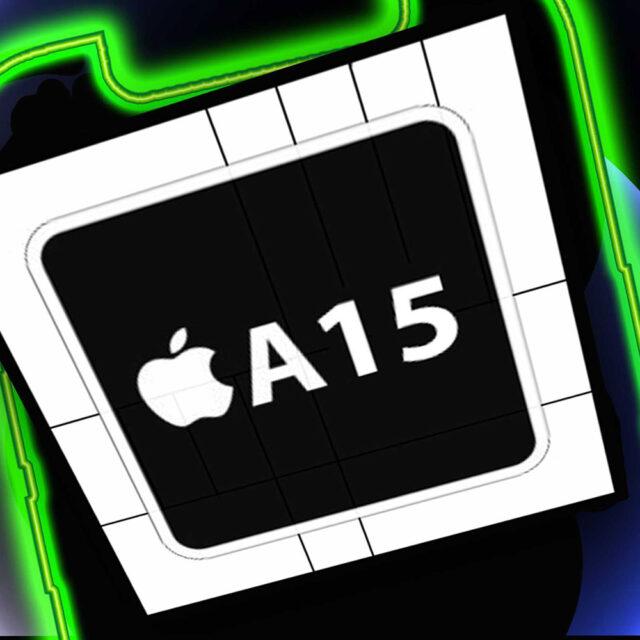 اپل A15