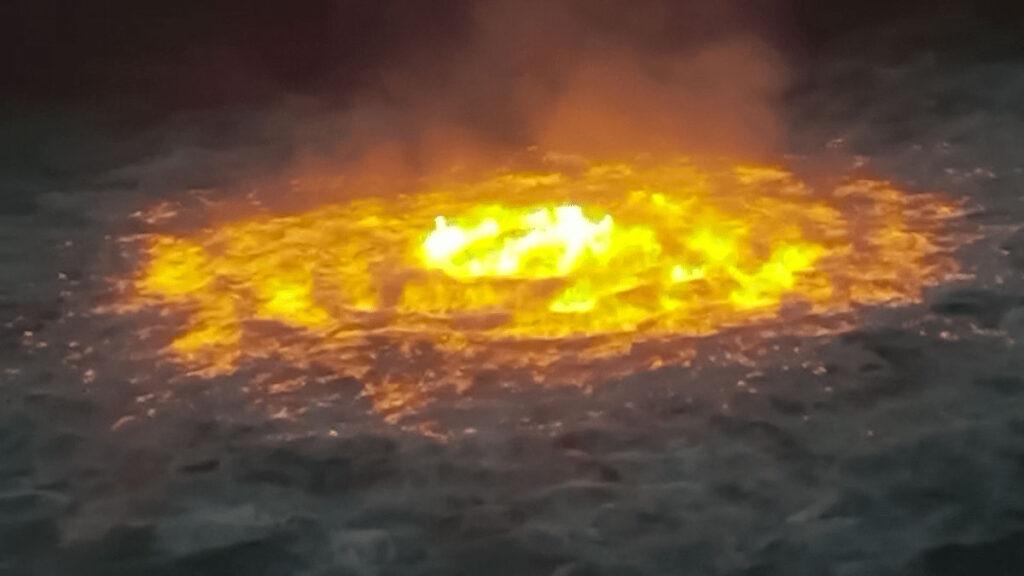 حلقه آتش در خلیج مکزیک
