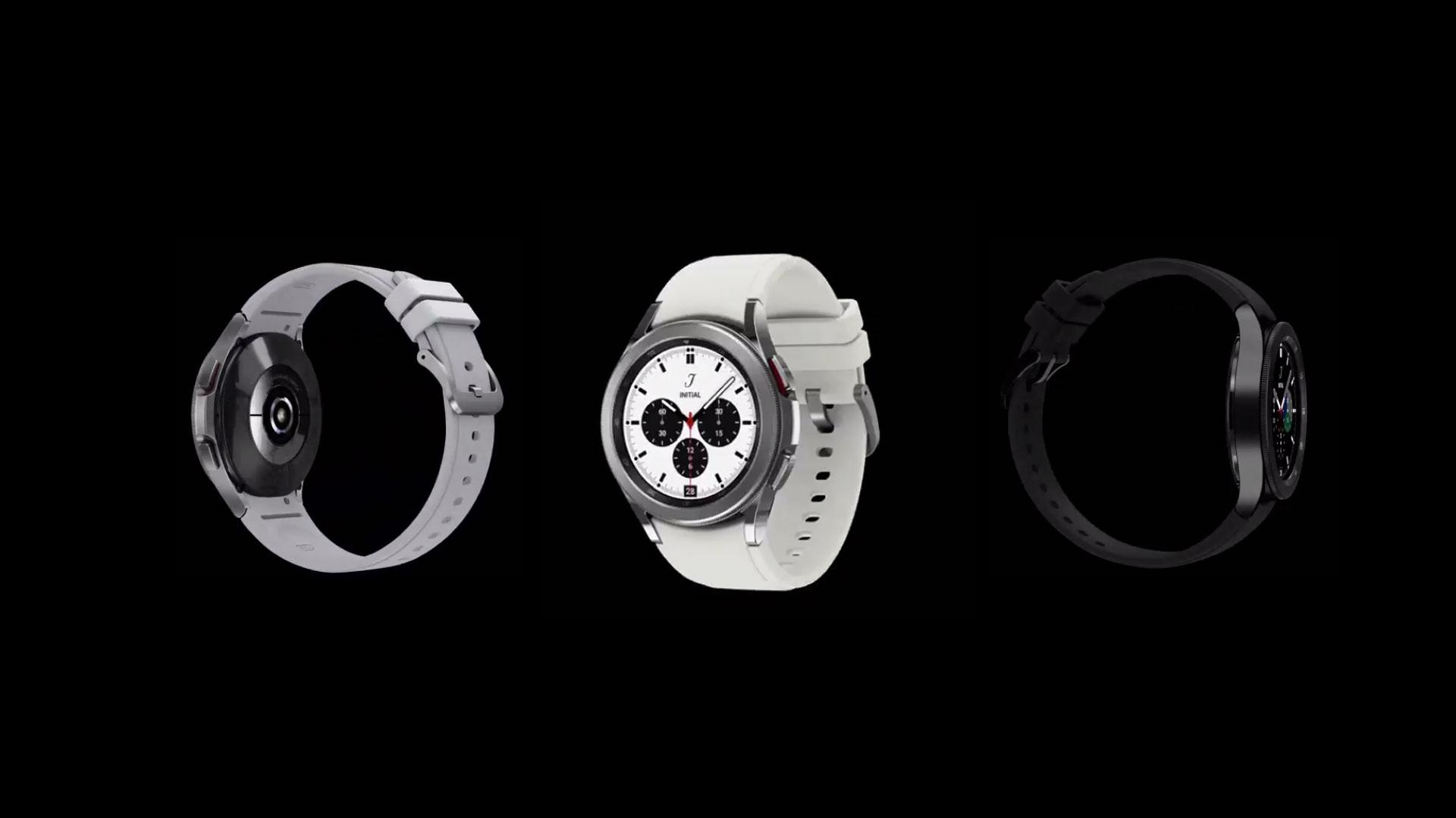 رندر ۳۶۰ درجه ساعت هوشمند سامسونگ Galaxy Watch 4 Classic را بببینید