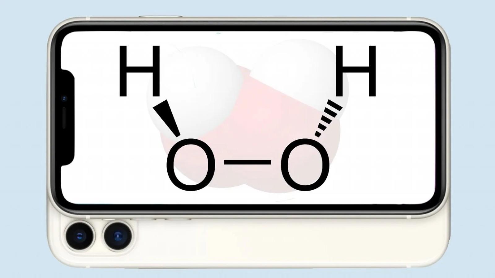 منع استفاده از هیدروژن پراکسید برای تمیز کردن دستگاه اپل