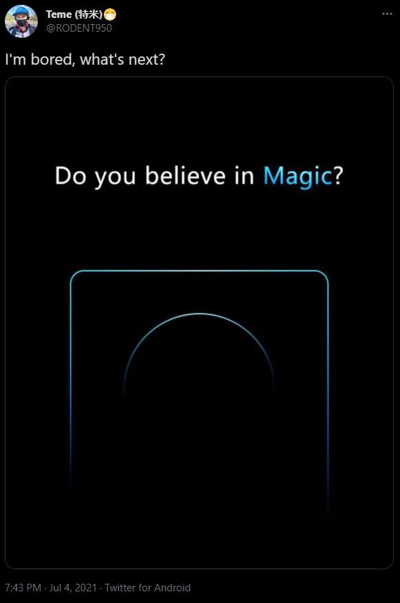 آنر Magic 3