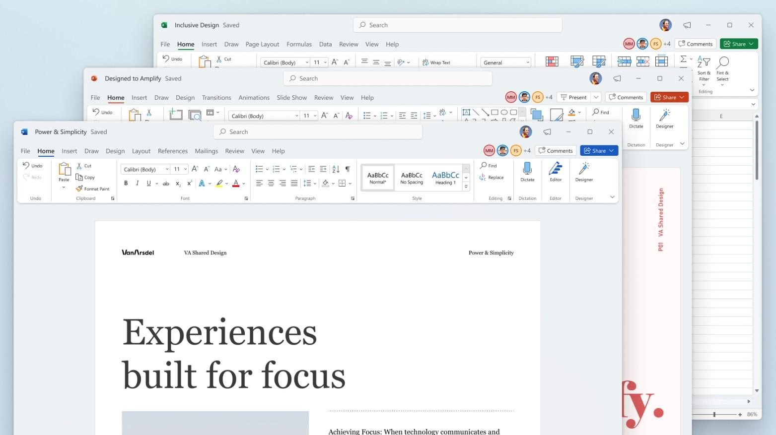 طراحی جدید Microsoft Office با شباهت به طراحی Windows 11 برای دانلود ارایه شد