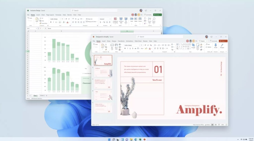 طراحی جدید Microsoft Office