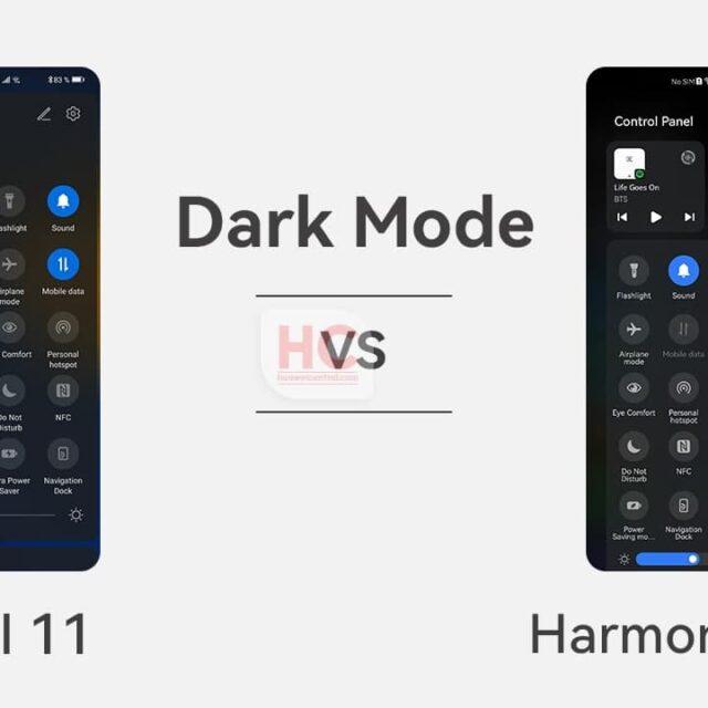 Dark Mode در HarmonyOS 2.0