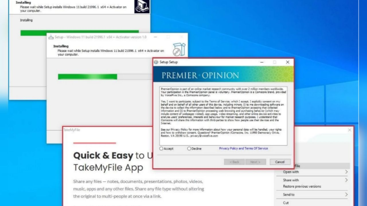 نسخه فیک ویندوز ١١
