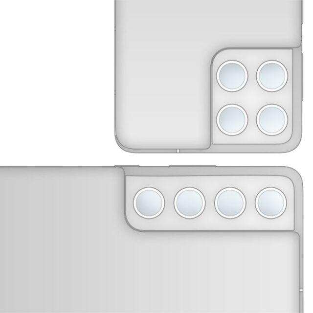 طراحی دوربین گلکسی S21