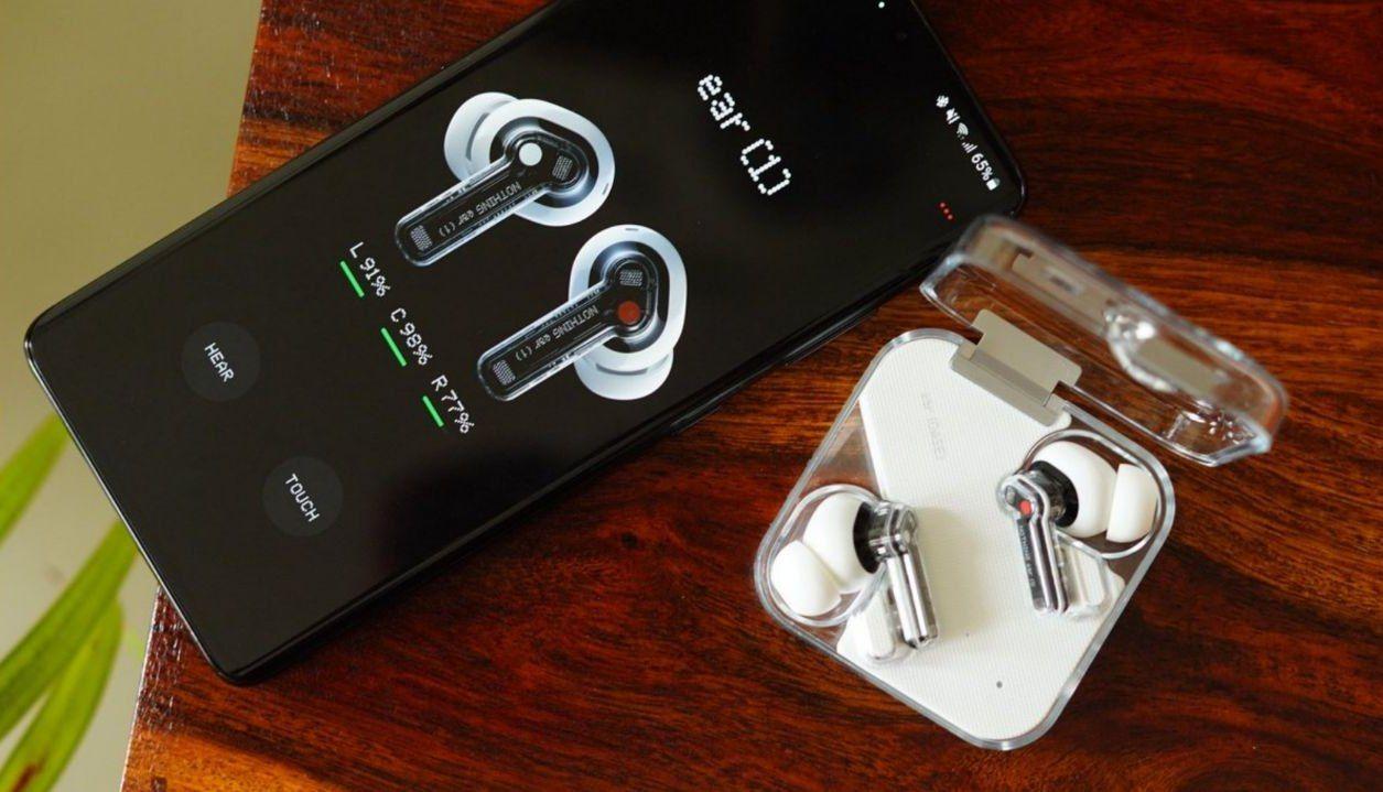 ایربادز Nothing Ear 1 با طراحی شفاف و متفاوت رسماً معرفی شد