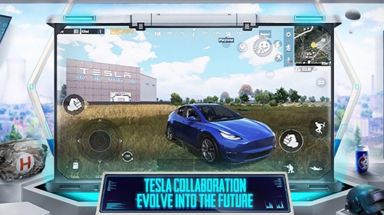اضافه شدن خودروی تسلا مدل Y در به روزرسانی جدید پابجی موبایل