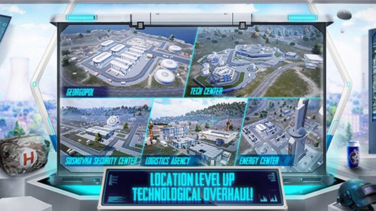 مراکز فناوری تسلا در مود جدید PUBG Mobile