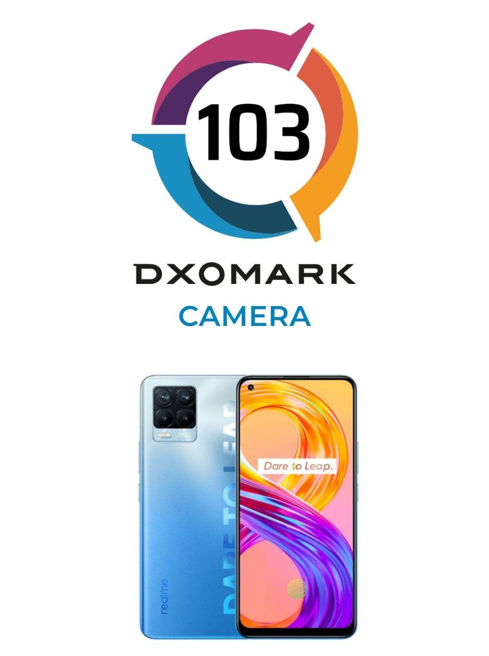 امتیاز DxO دوربین اصلی Realme 8 Pro