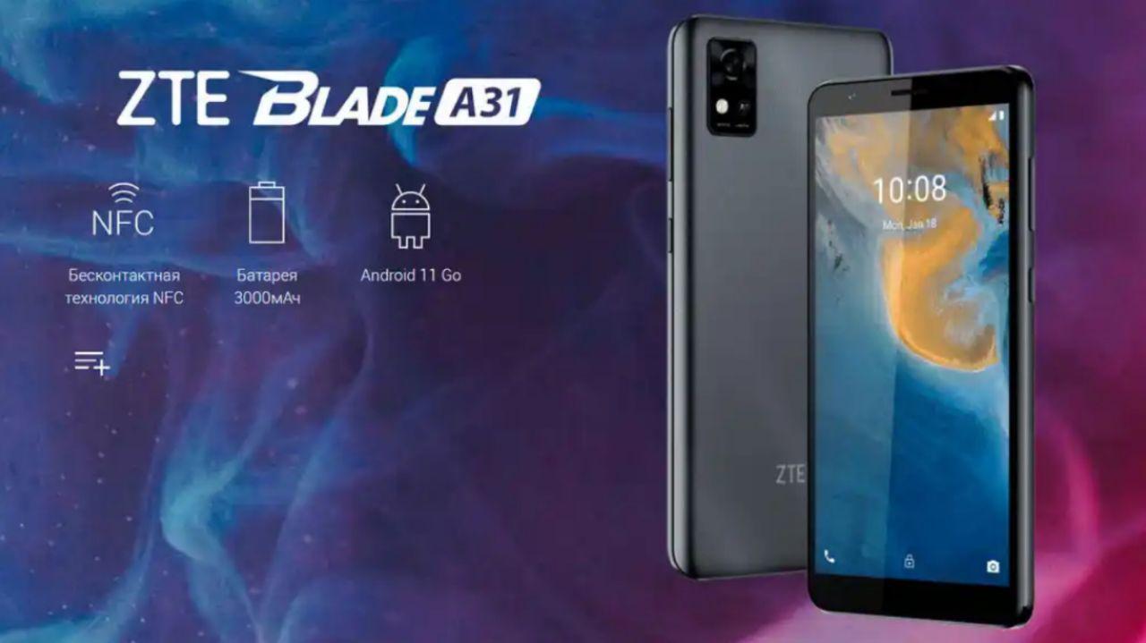 مشخصات فنی ZTE Blade A31