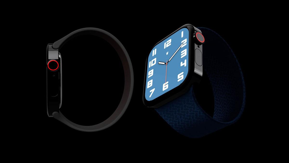 سایز و طراحی احتمالی اپل واچ سری ۷