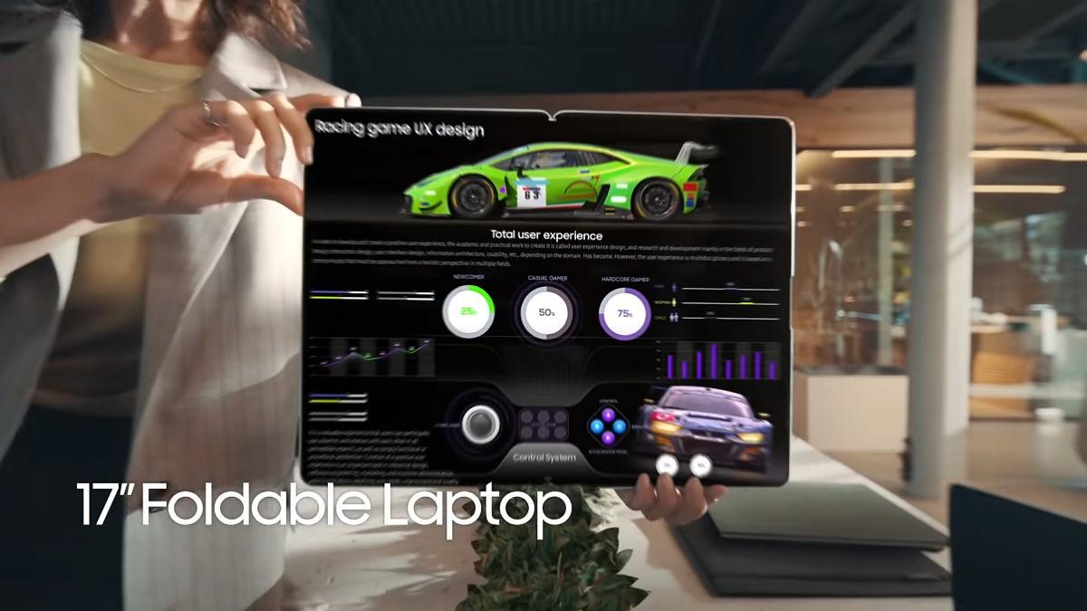 سامسونگ Galaxy Book Fold لپ تاپ ۱۷ اینچی تاشو آینده این شرکت خواهد بود