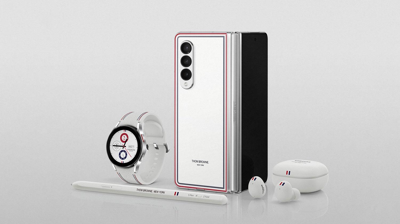 نسخه ویژه Thom Browne گوشی سامسونگ Galaxy Z Fold 3 و Galaxy Z Flip 3 را ببینید
