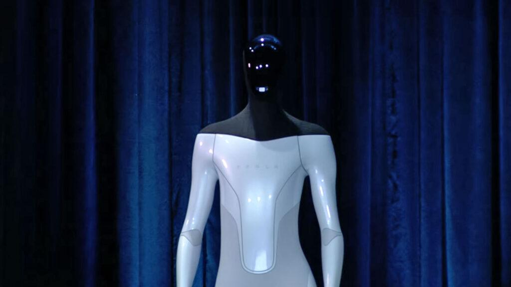 ربات انسان نما Tesla