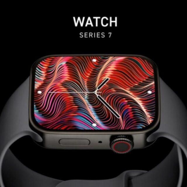 رندر Apple Watch Series 7