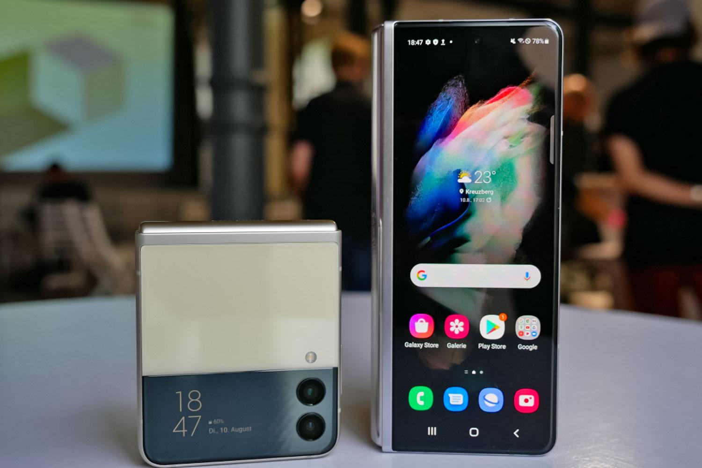 نگاه نزدیک به گوشی های تاشو Galaxy Z Flip 3 و Galaxy Z Fold 3 سامسونگ