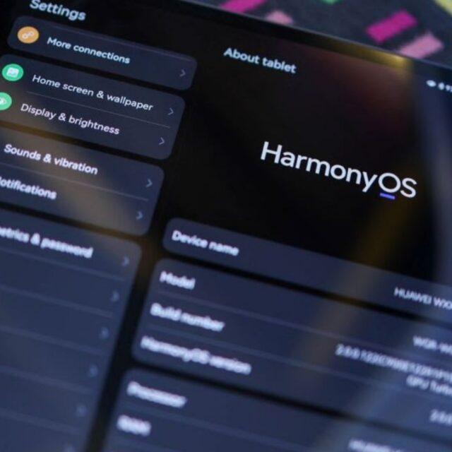 لیست دریافت کنندگان آپدیت نهایی HarmonyOS 2.0