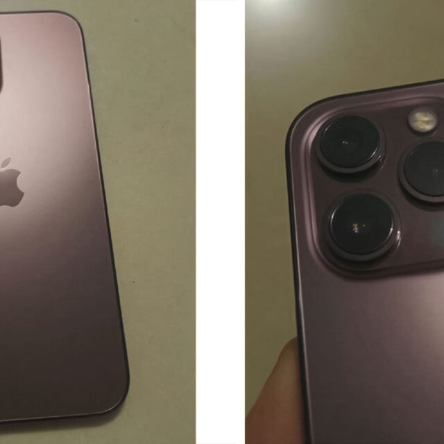 رنگ رزگلد iPhone 13 Pro