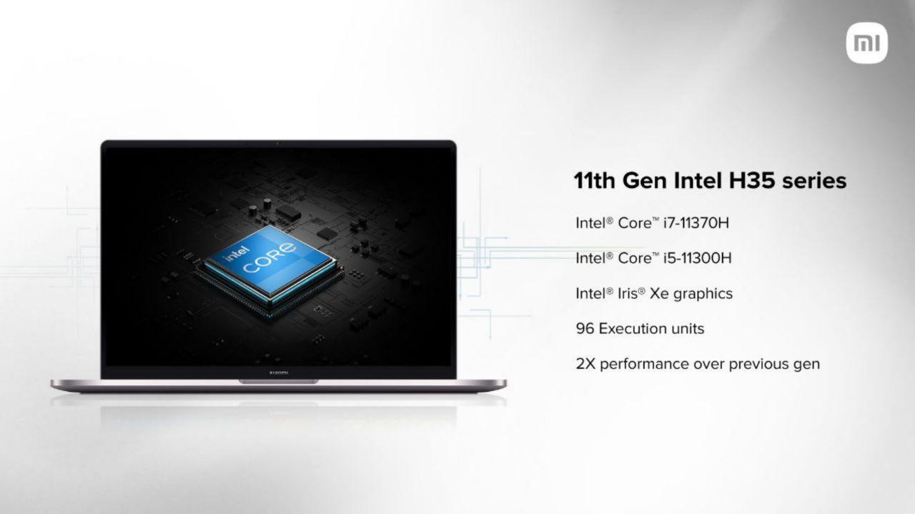 سخت افزار Mi Notebook Ultra