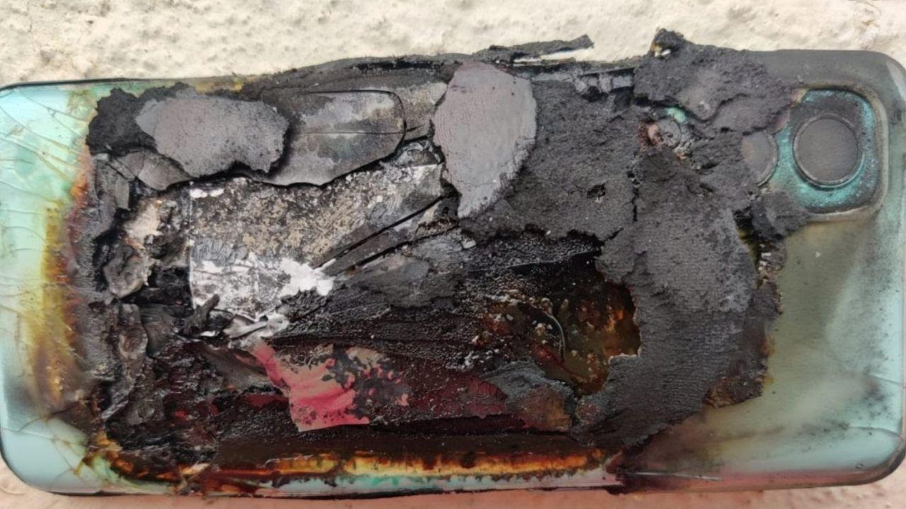 انفجار OnePlus Nord 2