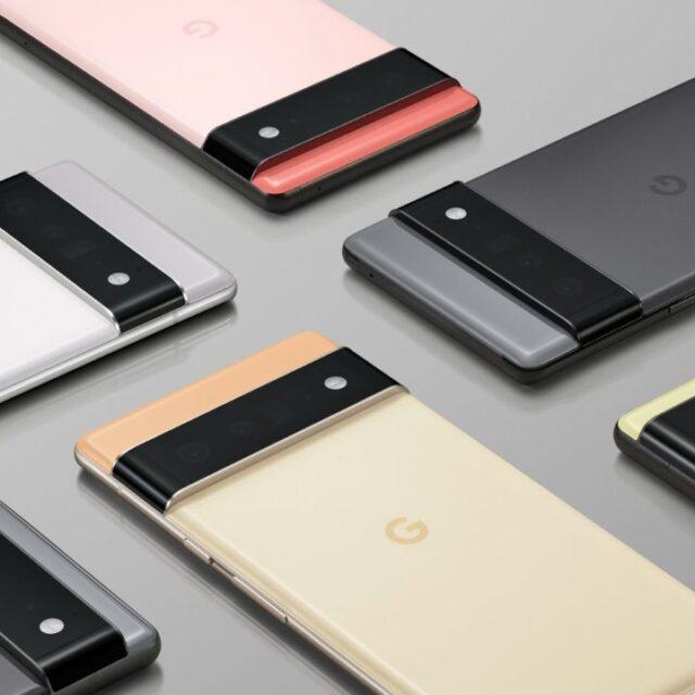 طراحی رسمی خانواده پیکسل ۶ گوگل