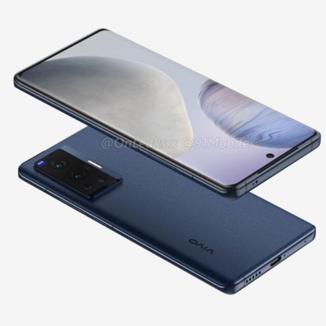 رندر Vivo X70 Pro