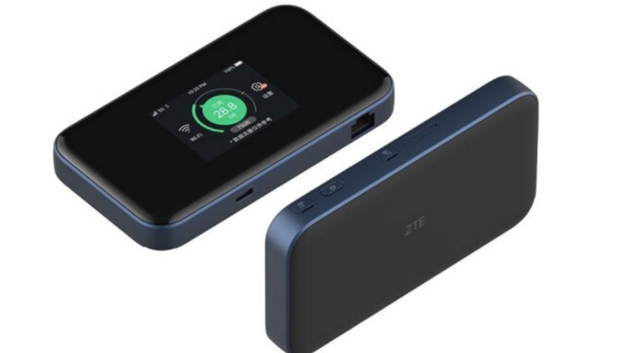 مودم 5G جیبی ZTE با Wi-Fi 6 و درگاه Ethernet به قیمت ٣٨۴ دلار معرفی شد