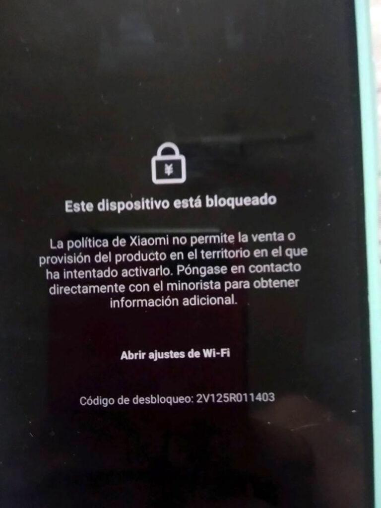 گزارش های قفل شدن گوشی شیائومی در کوبا
