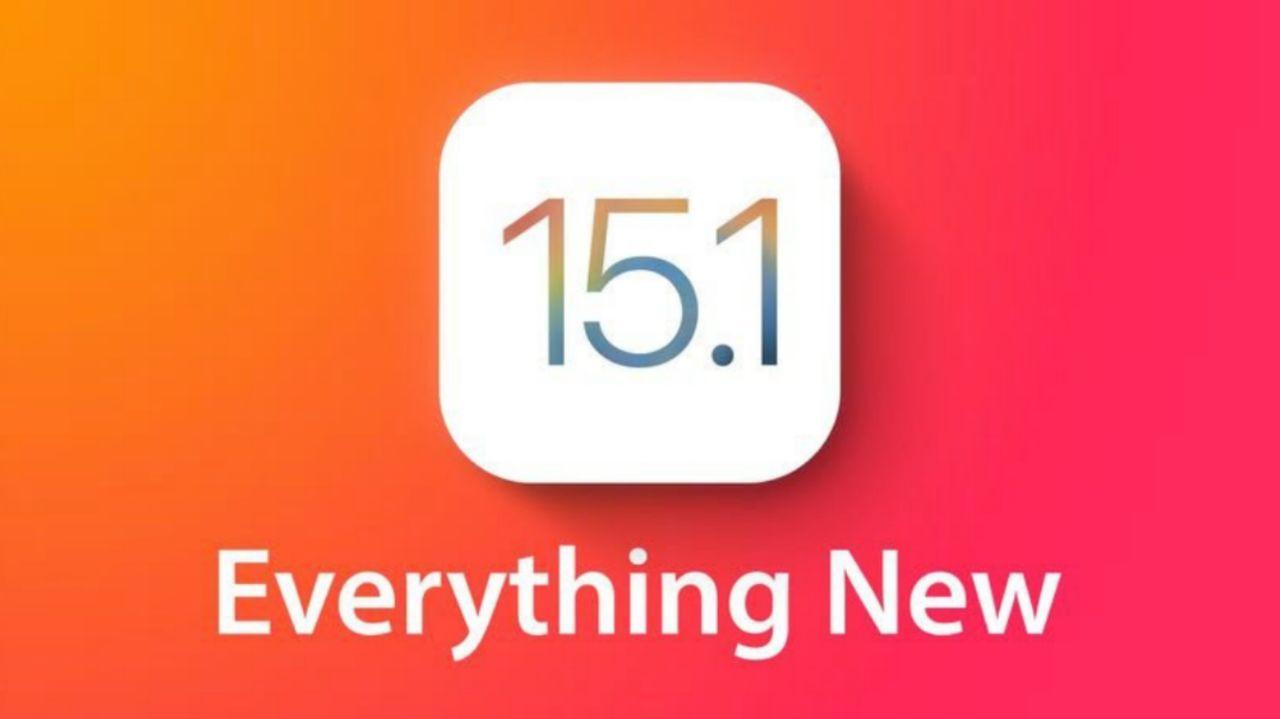 آپدیت iOS 15.1 بتا