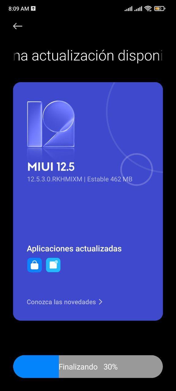 آپدیت MIUI 12.5 Enhanced پوکو F3
