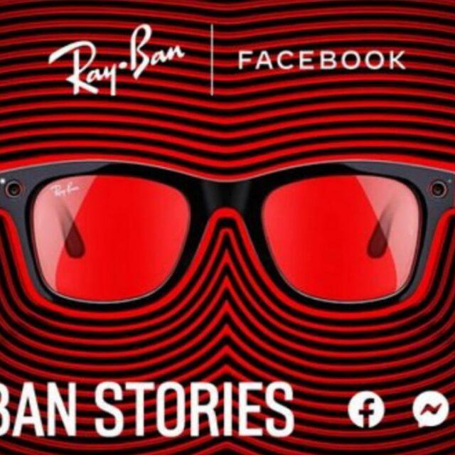 عینک هوشمند Facebook Stories