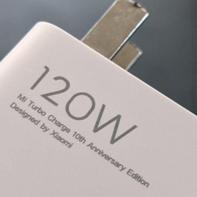 شارژر ١٢٠ واتی Xiaomi 11T Pro