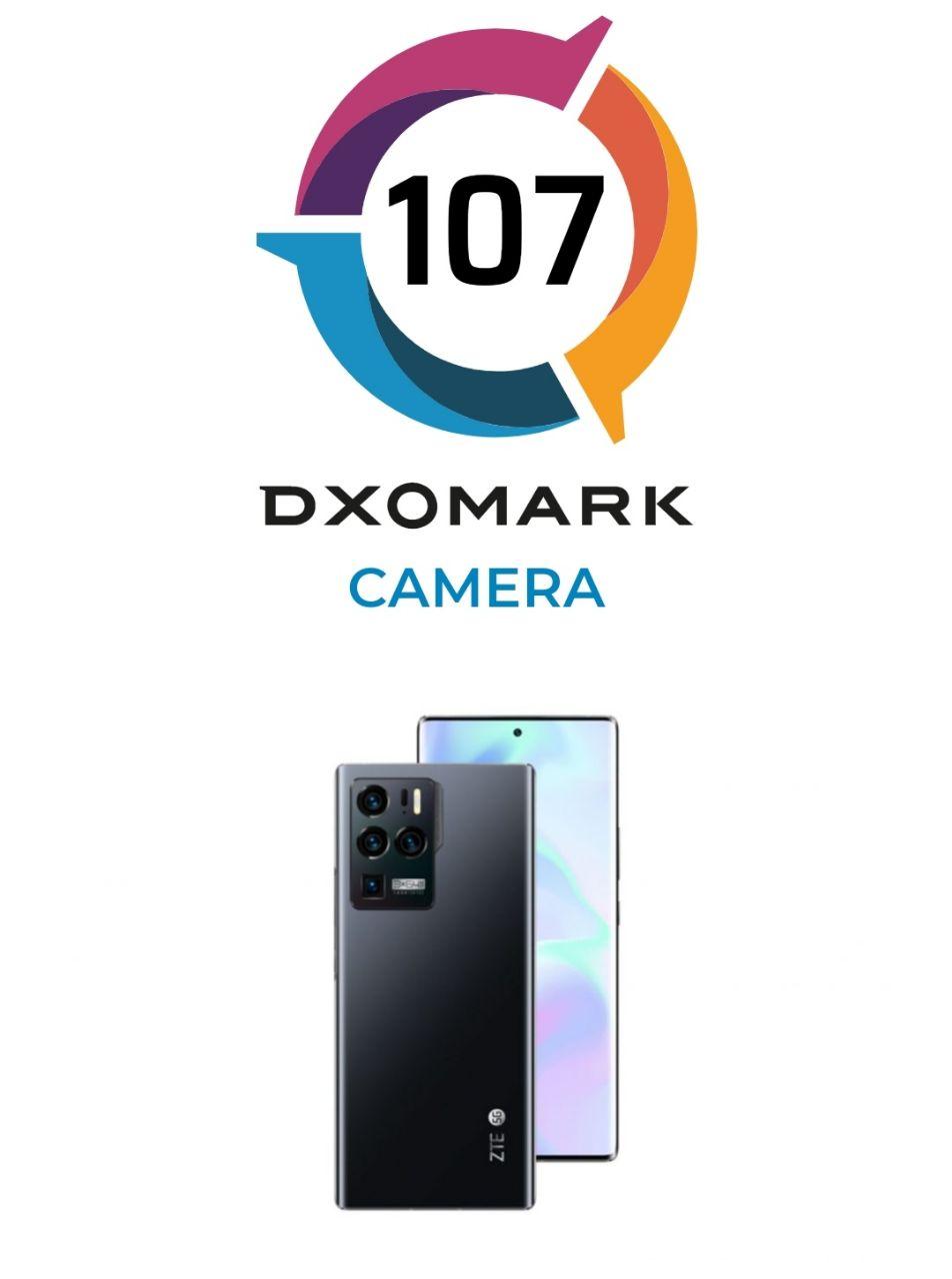 امتیاز DxO دوربین ZTE Axon 30 Ultra