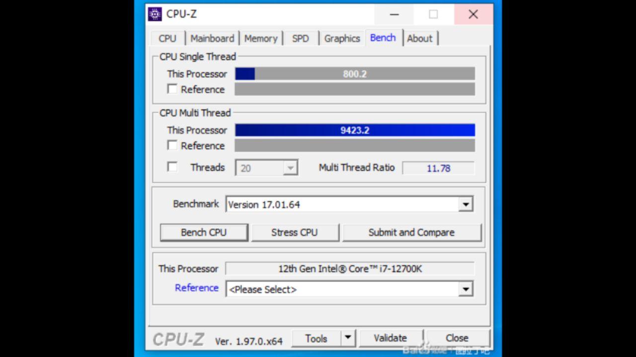 امتیاز بنچمارک پردازنده Core-i7 اینتل